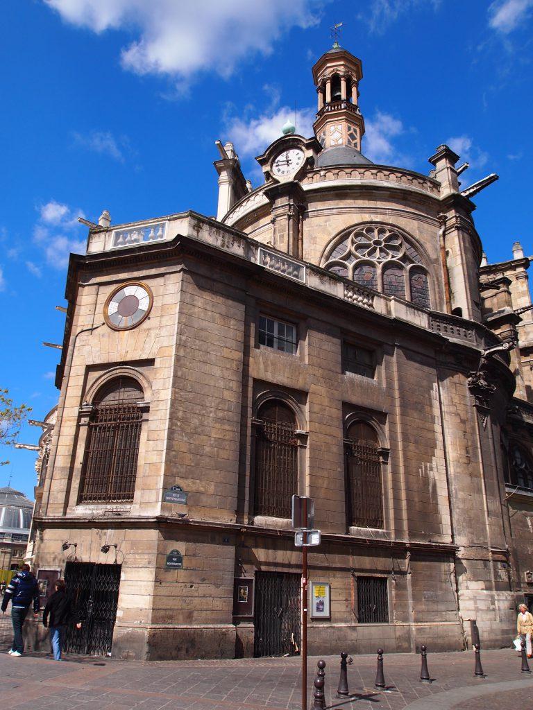 ユーロエステート:Saint-Eustache サン・トゥスタシュ教会