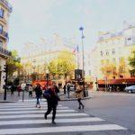 ユーロエステートの地区・治安・生活情報:パリ6区のメトロ:Mabillon駅(マビヨン):生活感のあるサンジェルマンデプレ